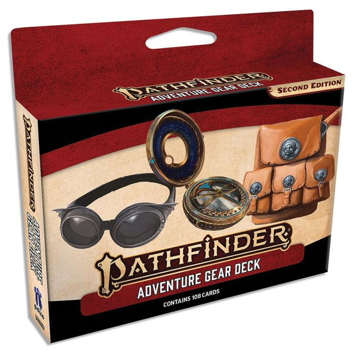Pzo2216 Paizo Publishing Pathfinder Rpg Adventure Gear Deck P2 At Gamersroll Each character begins play with a number of gold pieces that he can spend on weapons, armor, and other equipment. gamersroll